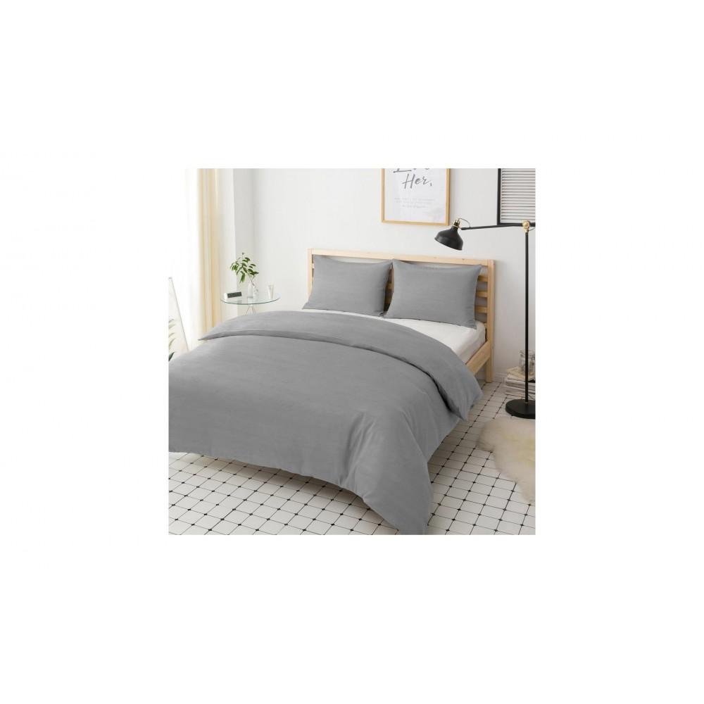 Наволочка Melange Grey Hotel Collection Cotton U-TEK