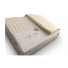 Наволочка U-TEK Hotel Collection Cotton Stripe Orange 30