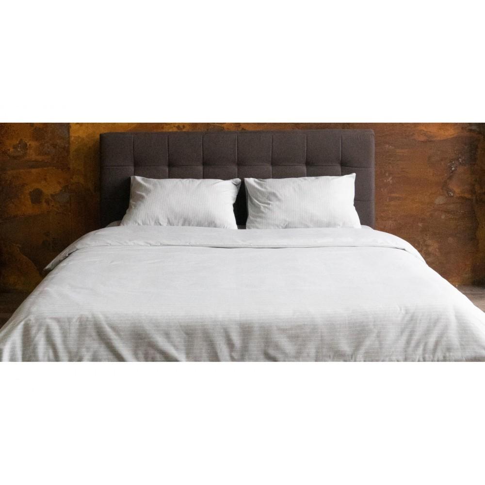 Наволочка U-TEK Hotel Collection Cotton Stripe Grey-White
