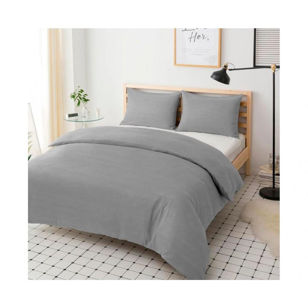 Пододеяльник Hotel Collection Cotton Melange Grey U-TEK