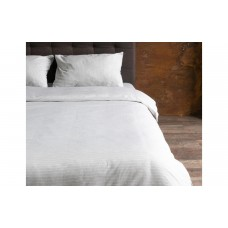 Пододеяльник Hotel Collection Cotton Stripe Grey-White U-TEK