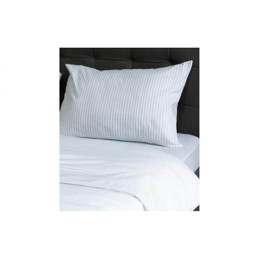 Пододеяльник Hotel Collection Cotton Stripe Grey 10 U-TEK