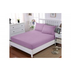 Простынь натяжная U-TEK Cotton Lilac