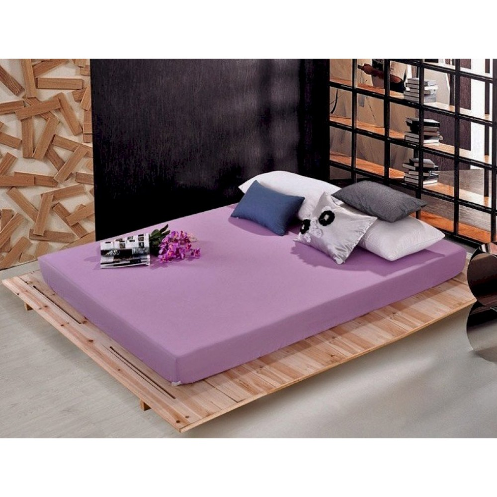 Простынь classic Home Collection Cotton Orchid