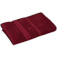 Полотенце махровое 70x140 бордовый