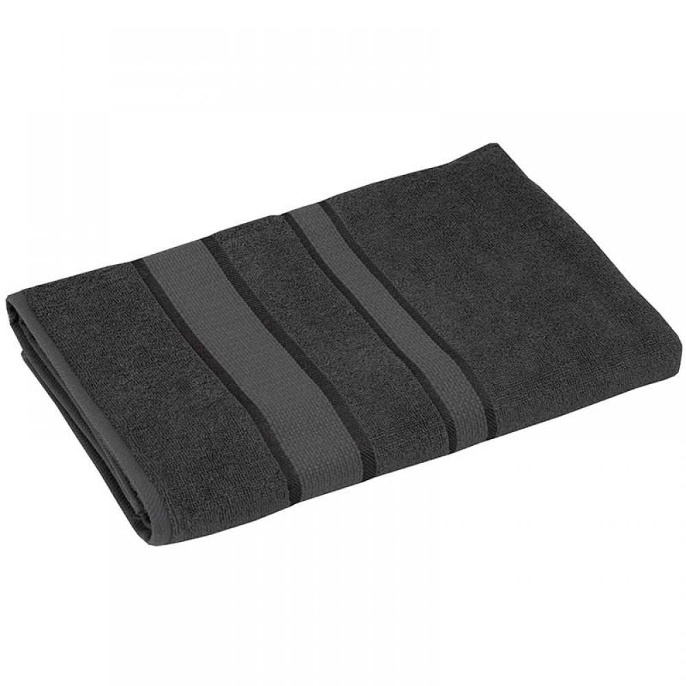 Полотенце махровое 70x140 серый